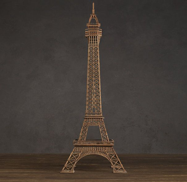 Eiffel tower architectural study model home decor for Eiffel tower decorations for the home