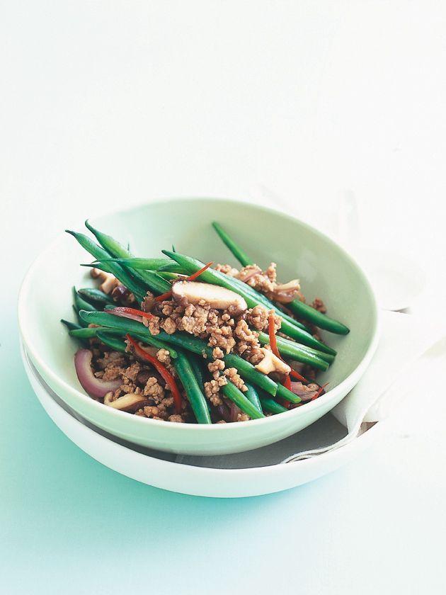Pork And String Bean Stir Fry Recipes — Dishmaps
