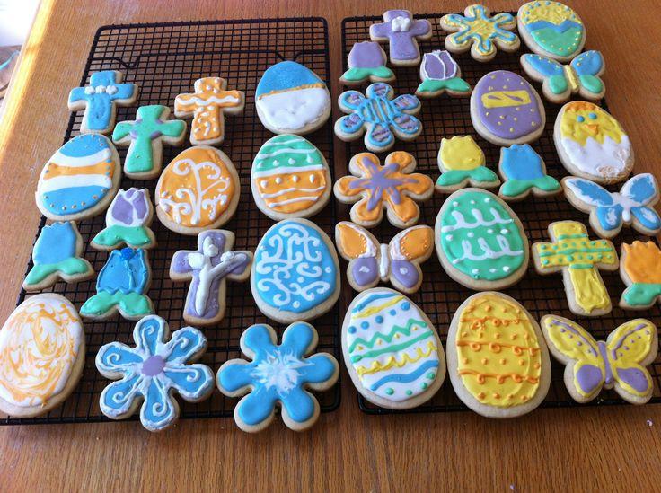 Easter cookies   Desert Lover   Pinterest