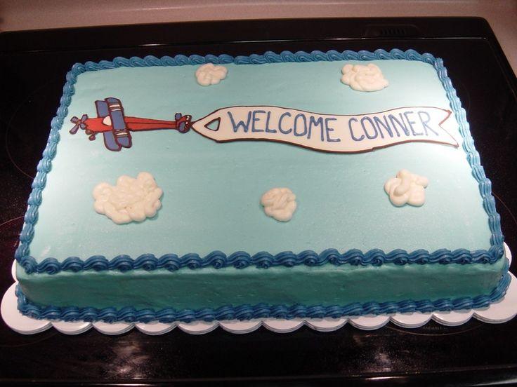Airplane cake birthdays pinterest for Airplane cake decoration