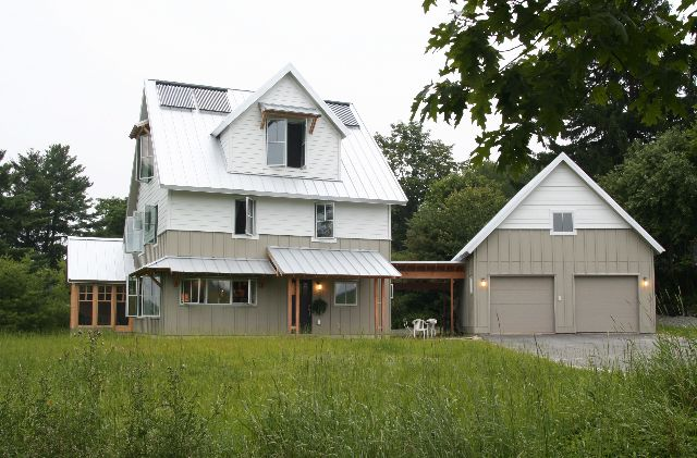 Home plans maine passive solar whispering tree farm for Maine house plans