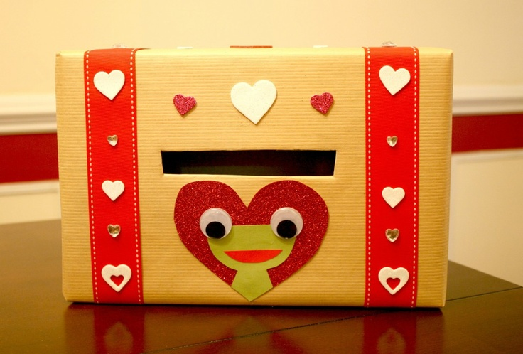 valentine's day box craft