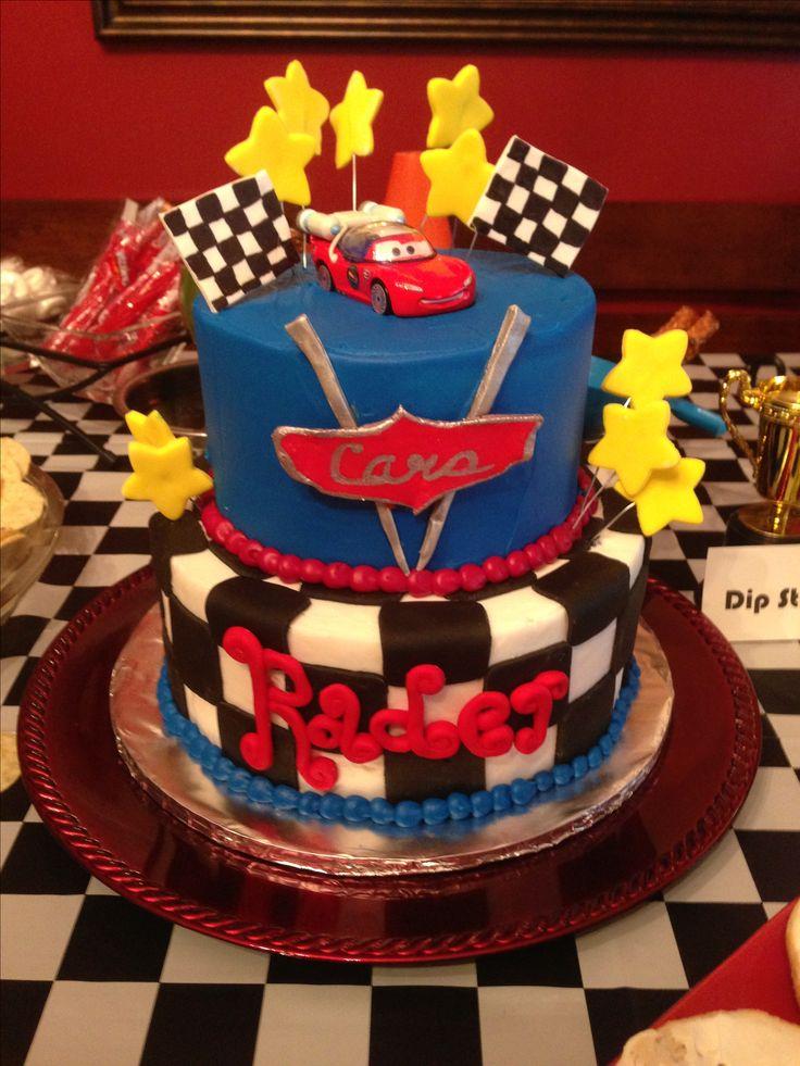 Disney Cars birthday cake Rader Pinterest