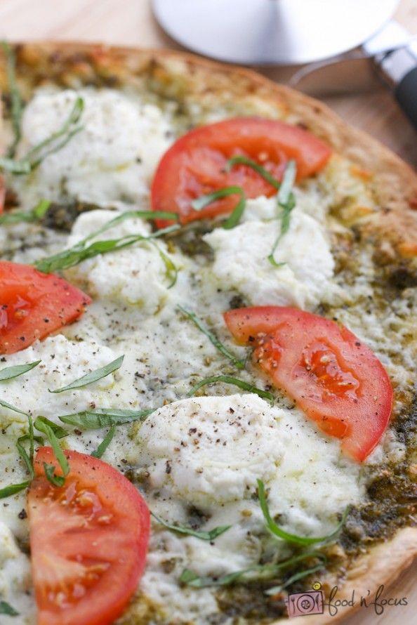 Tomato Basil Pizza Recipes — Dishmaps