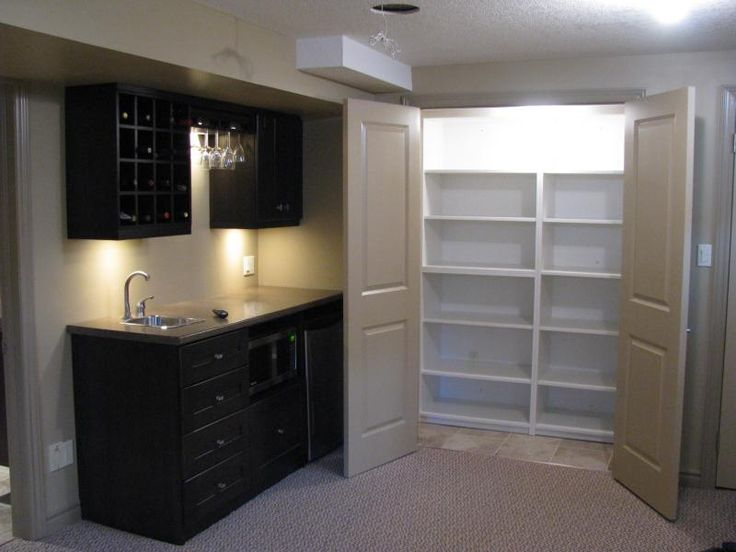 Pin by liz estrada on wet bars pinterest - Corner wet bar designs ...