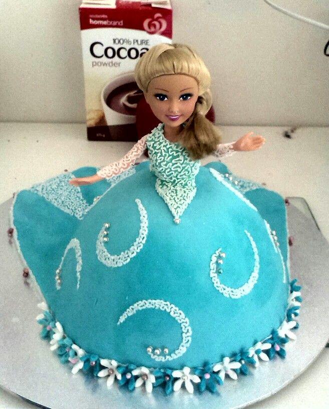 Dolly Varden, Elsa, Frozen, Cake decorating, Cornelli ...