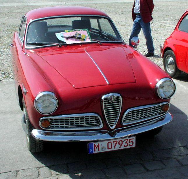 Alfa Romeo Giulietta Sprint, Year 1958