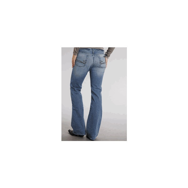 Stetson 816 Classic Boot Cut - Hi Low Wash ($45) via Polyvore