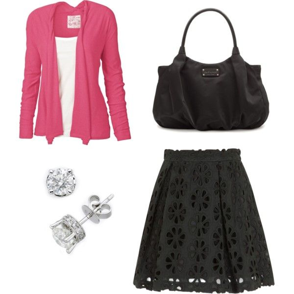skirt and blouse combo my style