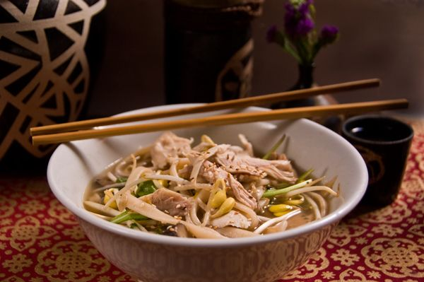 soy chicken noodle soup recipes dishmaps ginger soy chicken noodle ...