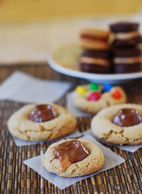 Peanut butter surprise cookies with Rolos by JuliasAlbum.com, via ...