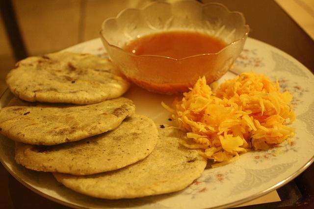 Pupusas from El Salvador | Places I have been. | Pinterest