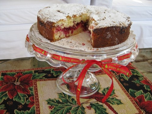 Cranberry Vanilla Coffee Cake | Creating Breakfast Foods | Pinterest
