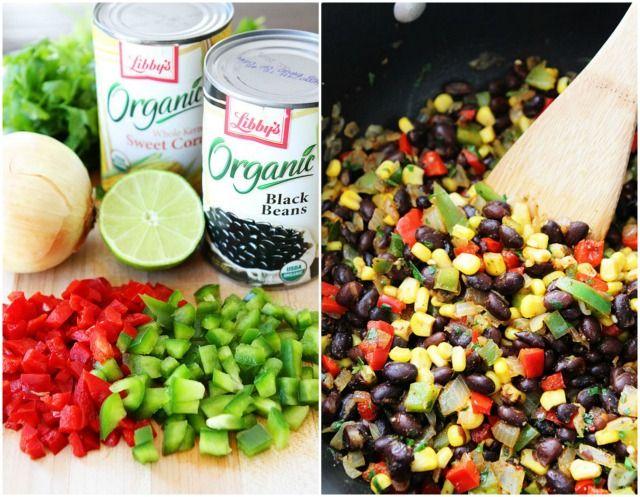 Crispy Black Bean Quinoa Burritos with Avocado Dipping Sauce on ...