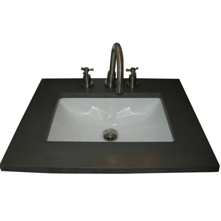 150$ Ceramic Undermount Sink Overstock.com