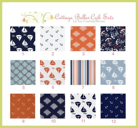 Nautical nursery fabric babyroomideas pinterest for Nautical nursery fabric