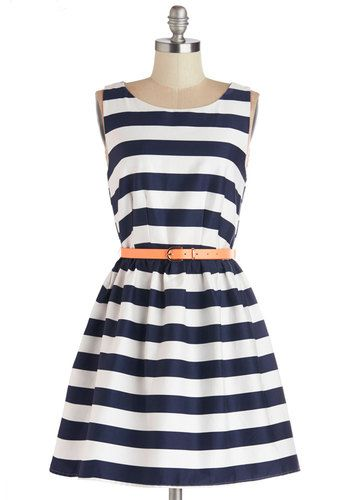 Looks Lake Love Dress   Mod Retro Vintage Dresses   ModCloth.com