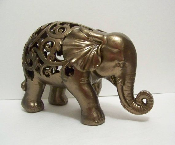 Elephant Statue Collectable Home Decor