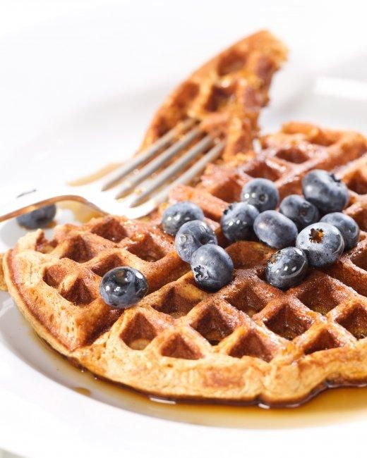 Whole Grain Goodness // Grampy Geoff Havens's Whole-Wheat Waffles Recipe