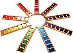 How to present the Montessori colour tablets