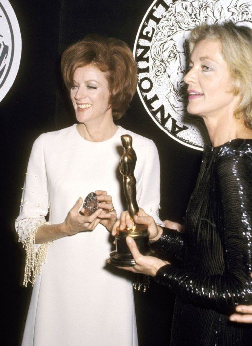 1970: Maggie Smith, Best Actress for The Prime of Miss Jean Brodie.