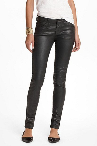 AG Leatherette: Jeans