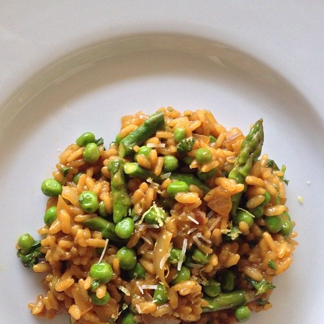 lemon-asparagus risotto | taste | Pinterest