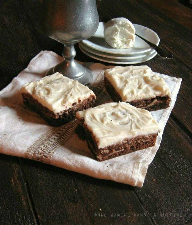 Goat Cheese Brownies | une gamine dans la cuisine | Party Food ...