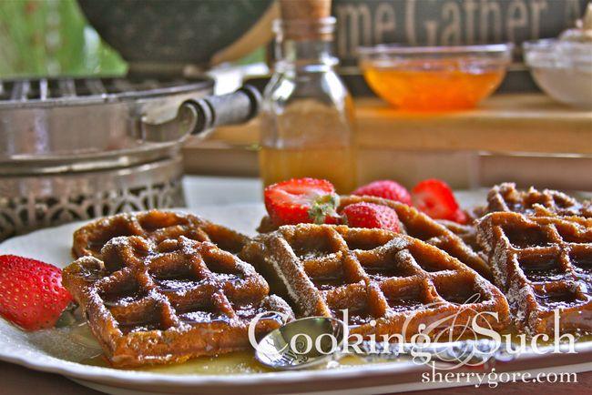 Gingerbread Waffles | food | Pinterest