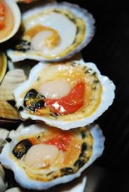 Grilled scallops   Food in Korea   Pinterest