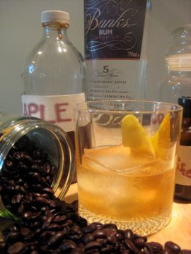 Five Island Old Fashioned from RecipeRelay. http://punchfork.com ...