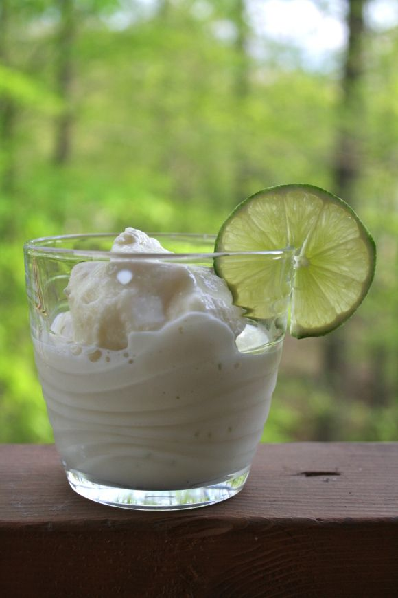 key lime pie sorbet // Bon Appetit ••• this is AMAZING: easy ...