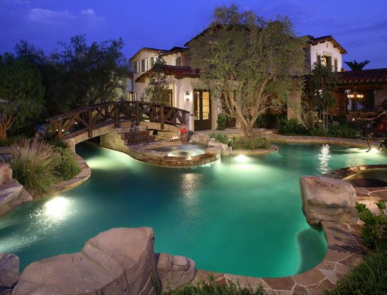 Nice House Moreover Lazy River Pool On Lazy River Pool Designs Home