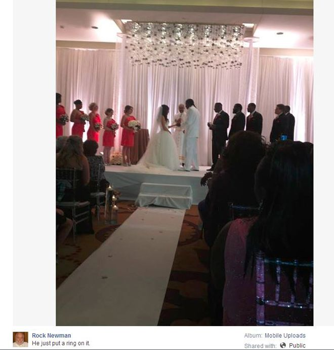 The Gallery For Gt Rg3 Wedding