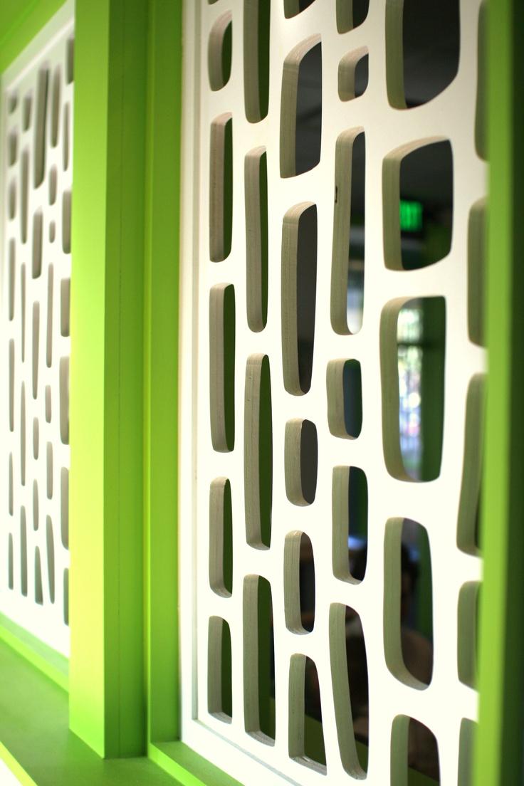 Mid century modern screens the morocco crestview doors for Modern screen door