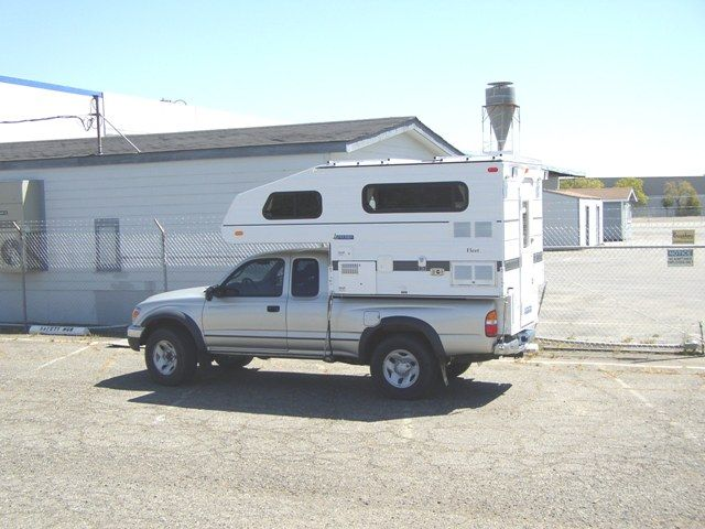 tacoma cab over camper - Google Search | Things That ...