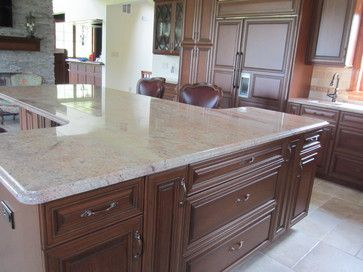shaped kitchen island pictures european farmhouse in bucks county