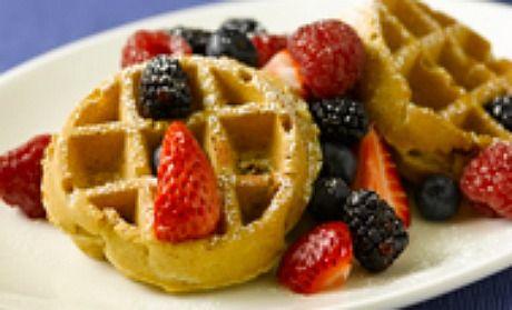 Oatmeal Pecan Waffles (or Pancakes) | Recipe