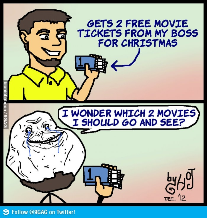 Forever Alone Christmas