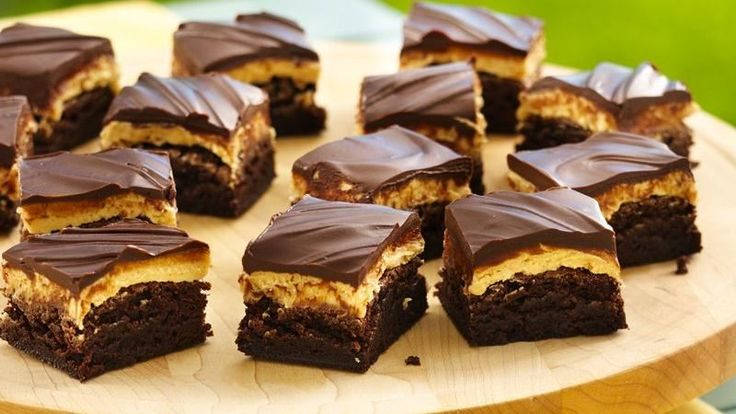 Traditional Peanut Butter Truffle Brownies | Recipe