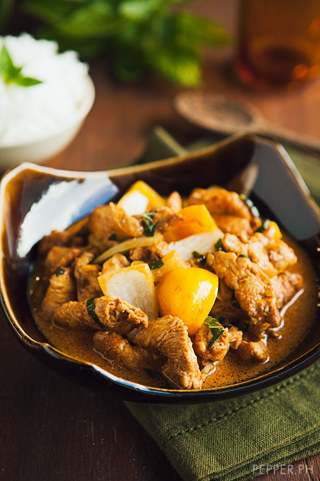 Basil Chicken with Coconut Curry Sauce by Pepper.Ph