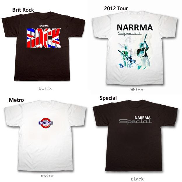 NARRMA - Primeros Modelos Camisetas 2012