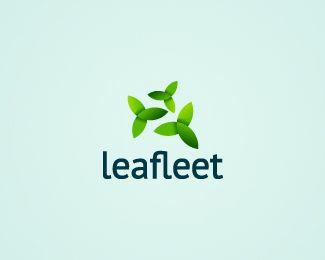 35 Cleverly Designed Leaf Logos