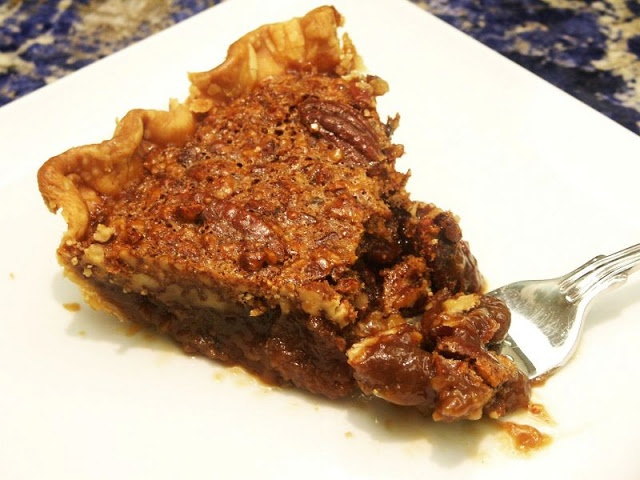 coffee-toffee pecan pie | pies | Pinterest