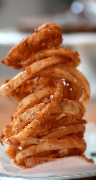 Fried Food Fanatic... BBQ Buttermilk Onion Rings (1) From: Joy The ...