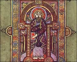 E Book Of Kells from the Book of Kells | Gaelic Obsession | Pinterest