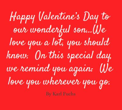 valentines day quotes son
