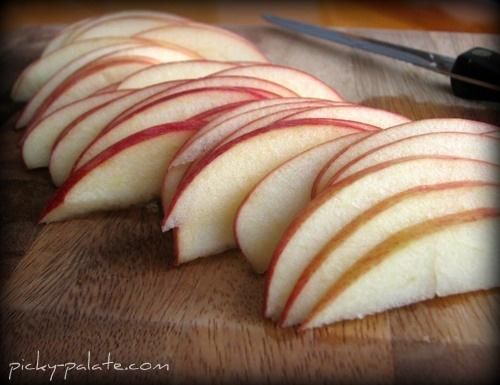Toasted Whole Grain Apple Cheddar Panini