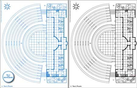 Theater blueprint google search new pinterest for How to make a blueprint