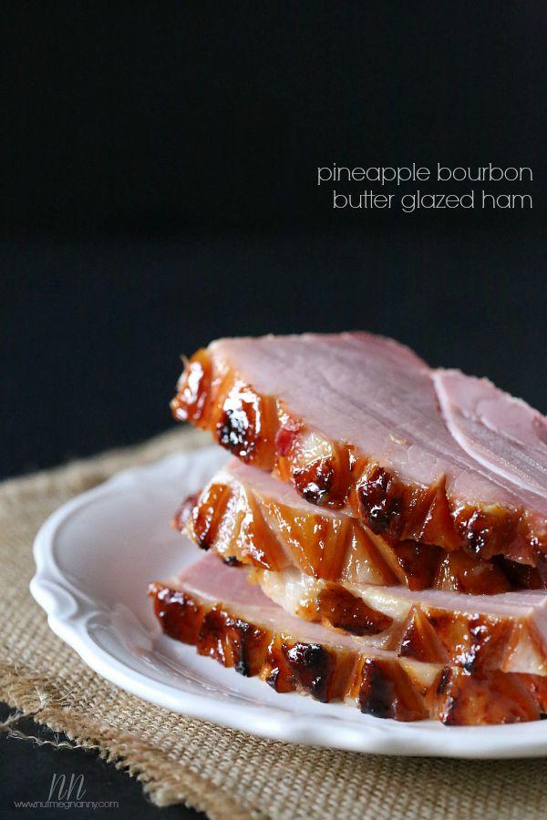 Easter Ideas, Easter Recipes, Easter Ham, Ham, Glazed Ham